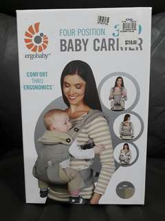 Ergobaby Carrier 4 positions 360 baby carrier