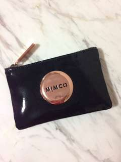 MIMCO Mini Pouch (Black and Rose Gold) 🖤