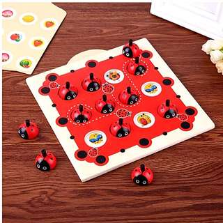 (New Stock) Wooden Memory Puzzles Training montessori Cognitive toys Set