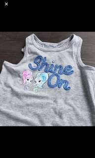 Instock shimmer and shine TOP Brand New Size 4T and 5t stock running Low no more restock !!