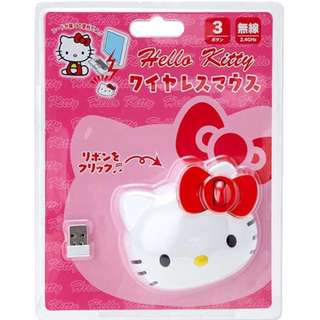 Sanrio Hello Kitty Wireless Mouse from Japan