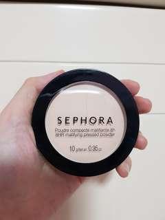 Sephora matifying pressed powder