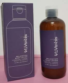 Sensatia Relaxation Body Lotion