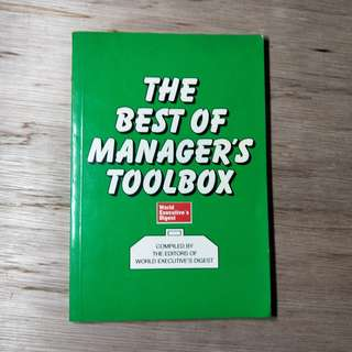The Best Of Manager's Toolbox
