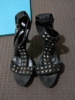 Rhinestone cool chich high heels