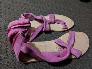 Pink pretty sandals