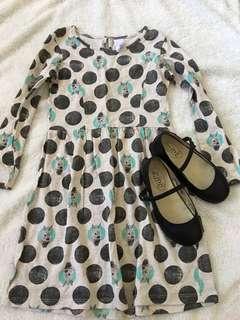 Black shoes & dress bundle