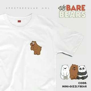 Sale!! Shirts💓 We Bare Bears 🌸