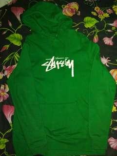 Stussy stock logo hoodie
