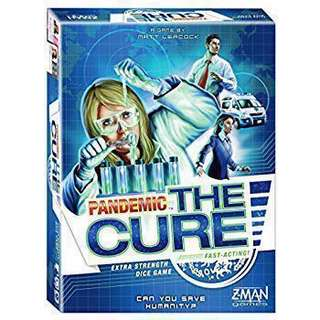 Pandemic The Cure Boardgame