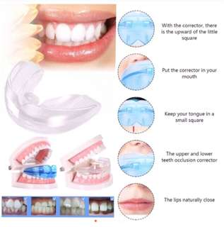 Crop and reposition for teeth
