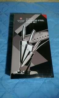 瑞士Moncross 不鏽鋼刀具組 (一體成型)