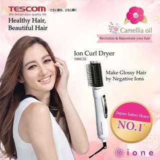 Tescom Ionic Hair Styler NBIC32