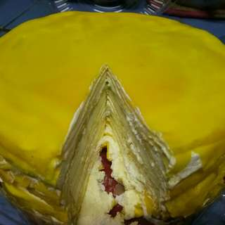 Durian Mille Crepe & Durian Crepe