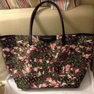 Givenchy floral tote bag