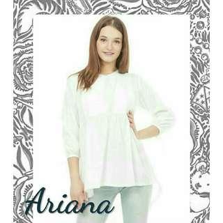 Preloved Baju Menyusui Putih