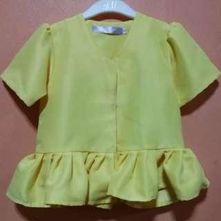 Kamikids yellow top