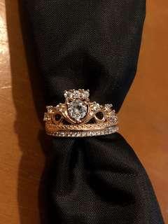 Rose Gold Tiara Ring