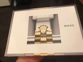 Rolex catalog 勞力士 型錄 2017