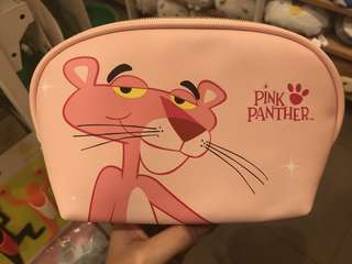 pouch pink panther miniso