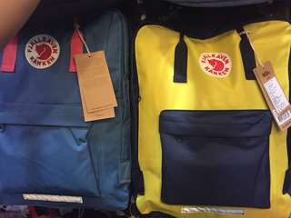 FJALLRAVEN KANKEN backpacks for pre order