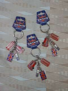 London keychain souvenirs
