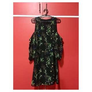 Zalora Cold Shoulder Dress