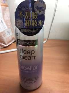 🚚 露得清深層淨化卸妝水