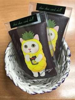韓國入荷~正貨Jetoy 菠蘿貓貓鎖鑰包