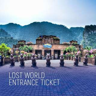 Sunway Tambun Lost World Ticket for SALE!