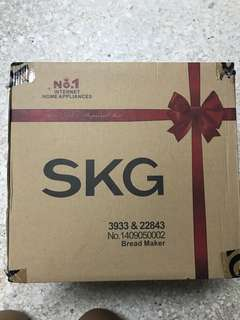 SKG 3933 bread maker