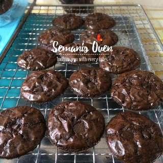 Brownies Cookies / Biskut Brownies