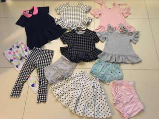 GIRLS OUTFIT SET $60 ONLY