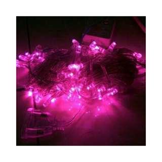 Led lamp (pink)