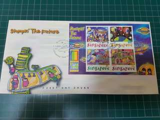 First Day Cover Stampin' The Future World Stamp Expo 2000