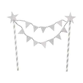 Sparkly Glitter Cake Bunting