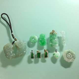 Miscellaneous Jade Pendants