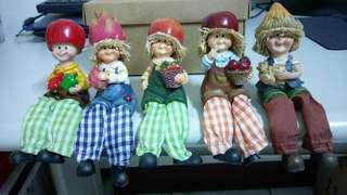 🚚 可愛娃娃5個
