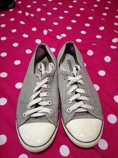 Converse slim type gray