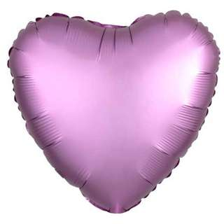 BalloonHero party foil pink heart balloons with helium (FREE DELIVERY*)
