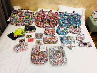 Jujube donutella destash - tokipops, rainbow dreams, Sakura swirls, Ukk 2.0 - fuel cell, Be quick, superbe, coin purse