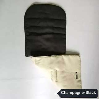 Brand NEW Original Maclaren Reversible Seat Liner in Champagne & Black!