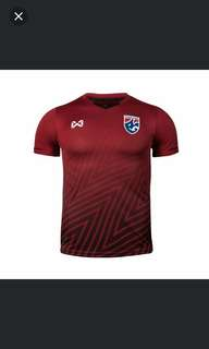 Latest Thai national team jersey