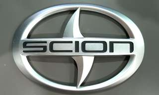 Scion rear boot emblem original OEM