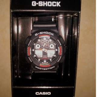 Brand new G-Shock casio Watch Black and red
