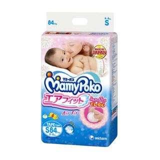 MamyPoko Air Fit Diapers - S (4 - 8kg) 84 per pack