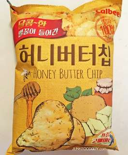 KOREAN HONEY BUTTER CHIPS