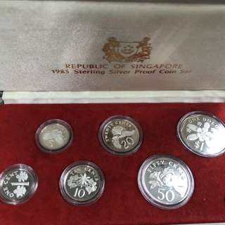 1985SG proof Coinset