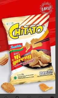 Chitato Indomee Mee Goreng Kornet Potato Chips