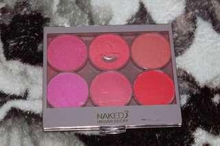 Naked blush on